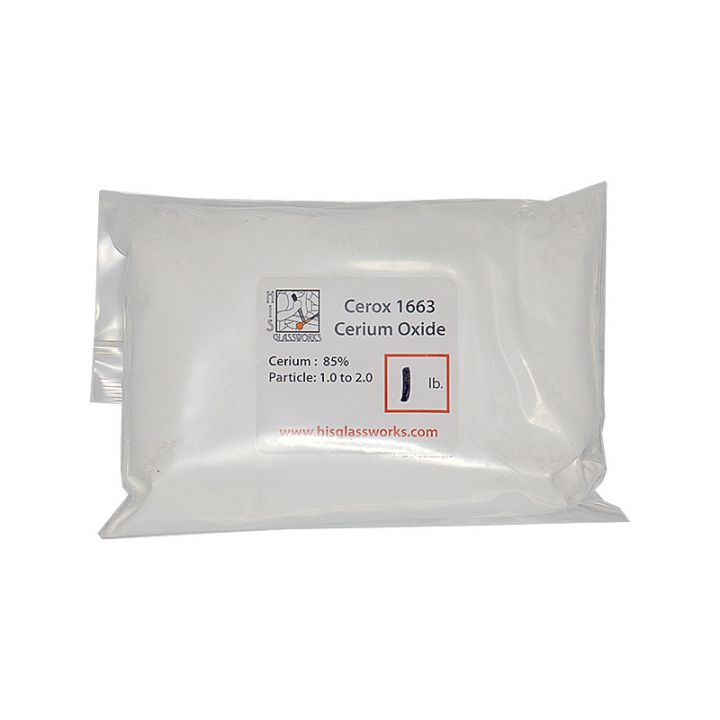 Cerox 1663 cerium oxide 1 pound bag