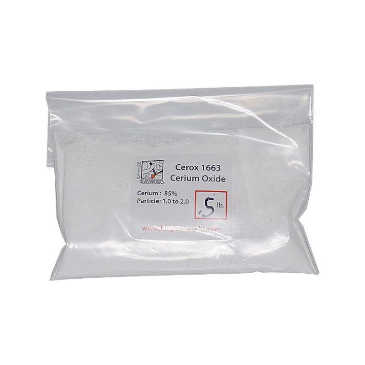 Cerox 1663 1/2 pound bag cerium oxide