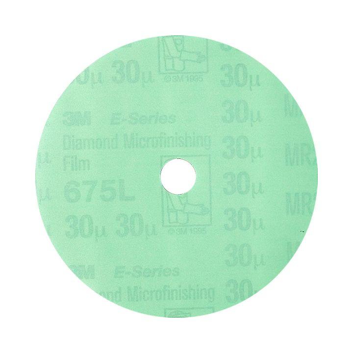3M 4 Inch Velcro Backed 400 Grit Electrostatic Diamond Disk
