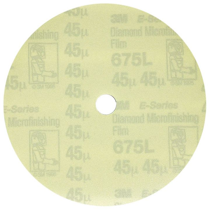 3M 5 Inch Velcro Backed 300 Grit Electrostatic Diamond Disk