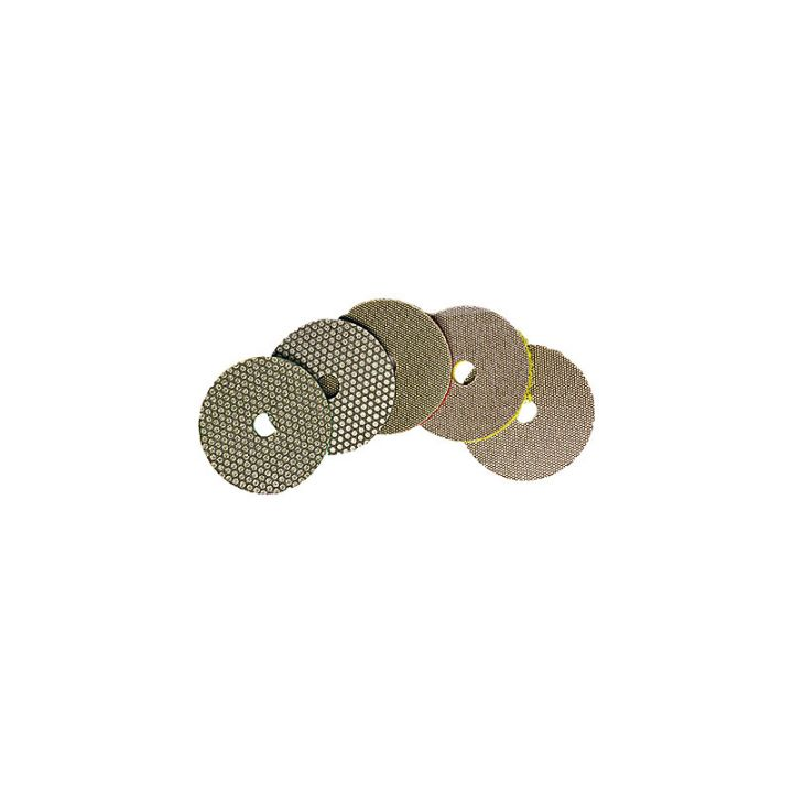 3M 2 inch electroplated diamond disk set