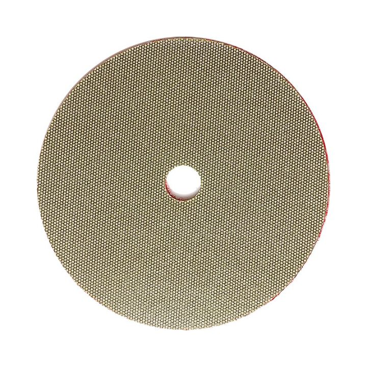 3M 4 Inch Velcro Backed 200 Grit Electroplated Diamond Disk