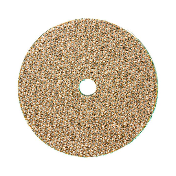 3M 4 Inch Velcro Backed 60 Grit Electroplated Diamond Disk