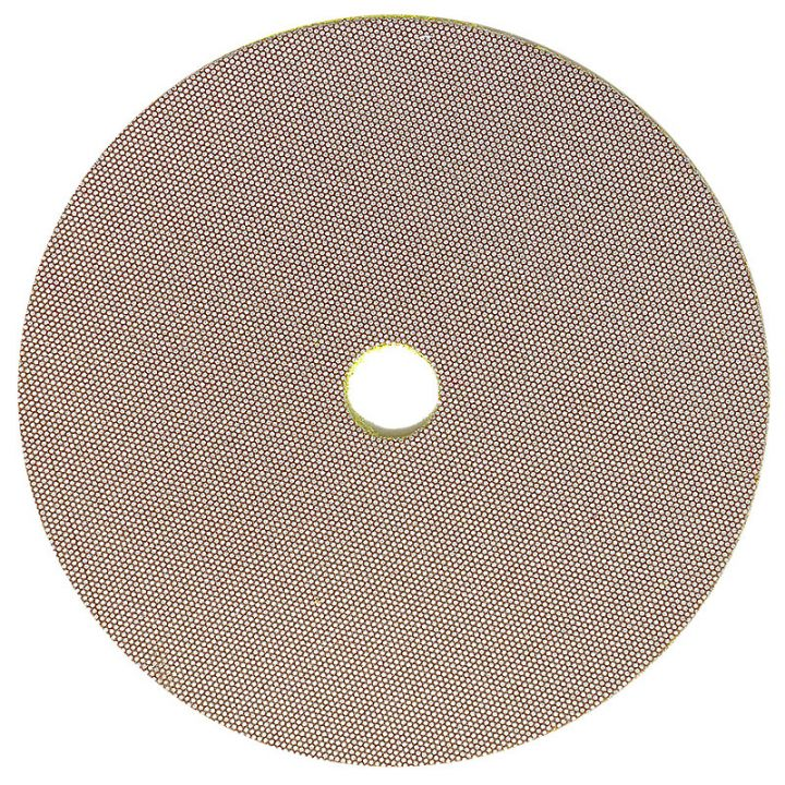 3M 5 Inch Velcro Backed 400 Grit Electroplated Diamond Disk