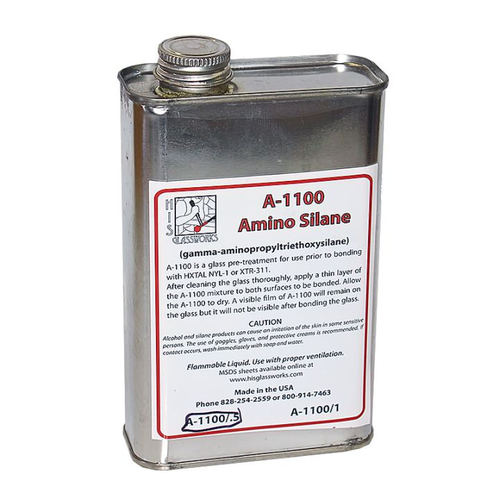 A-1100 Amino Silane solution in 1/2 Liter.