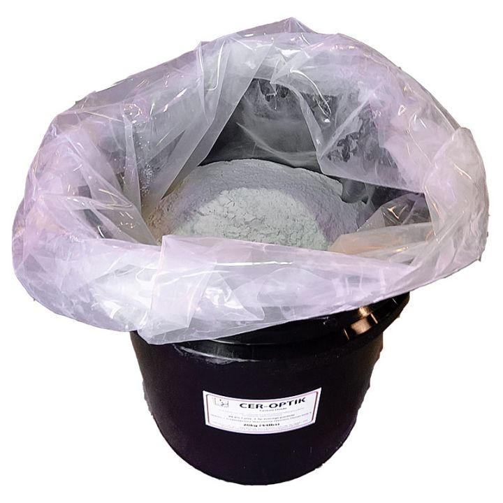 Cer-Optik Cerium Oxide 44lb (20kg) Pail
