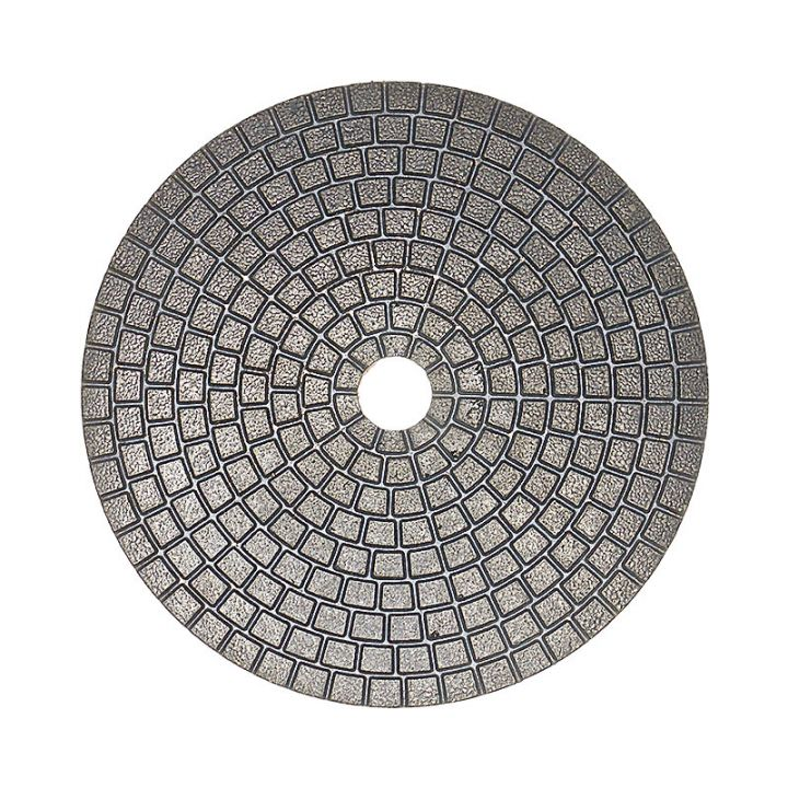4 Inch Velcro Backed 300 Grit Ceramica Diamond Pad