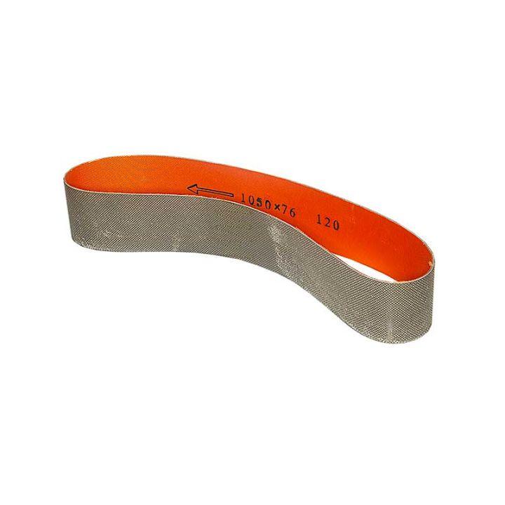 3 Inch x 41-1/2 Inch 120 Grit Diamond Belt