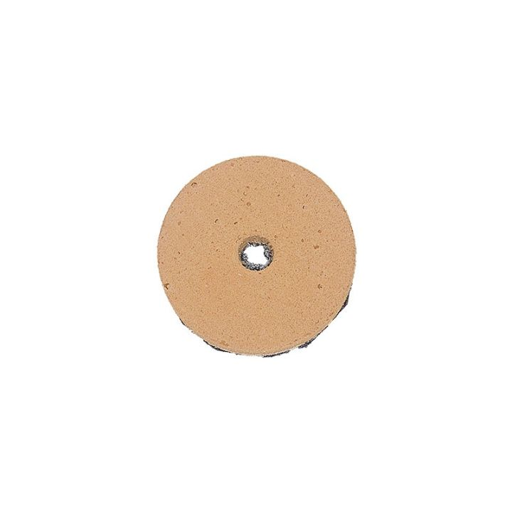 polpur 2 inch velcro backed brown disk for polishing