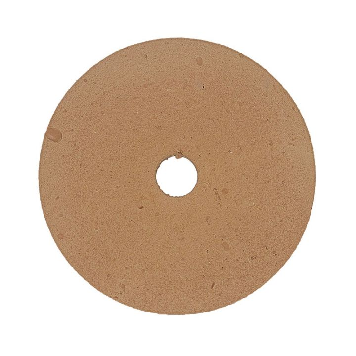 Polpur velcro backed brown lapi-t disk