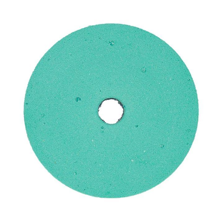 Polpur velcro backed green lapi-t disk