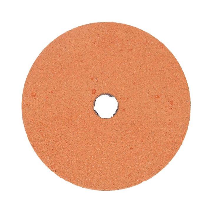 Polpur velcro backed orange lapi-t disk