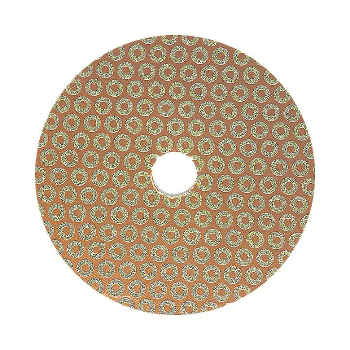 4 Inch Velcro Backed 50 Grit Baby Rok Diamond Disk
