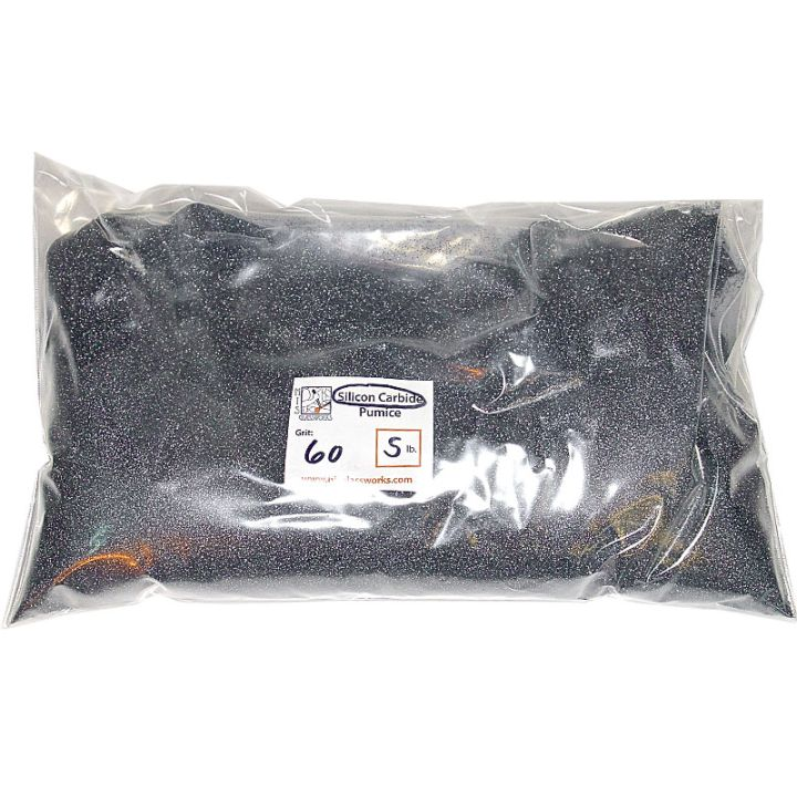 5 Pounds 60 Grit Graded Silicon Carbide