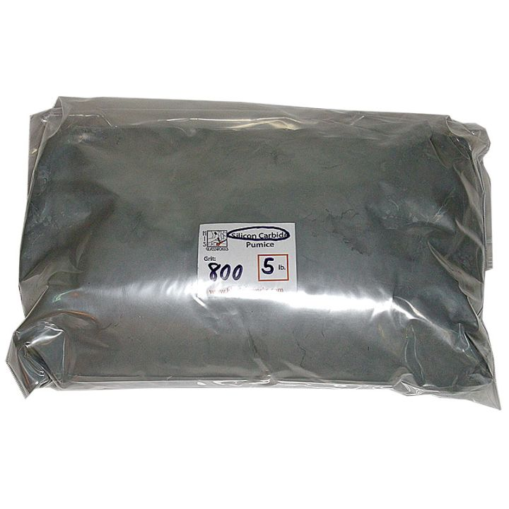 5 Pounds 800 Grit Graded Silicon Carbide