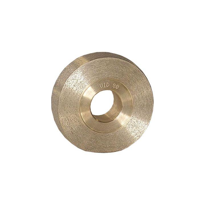 3 Inch x 1 Inch Radiused 80 Grit Sintered Diamond Wheel