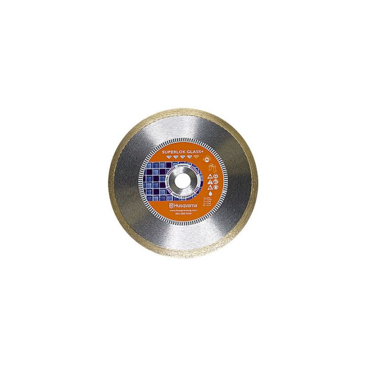 Husqvarna 6 Inch x .060 x 5/8 Inch Superlok Glass+ Fine Diamond Blade