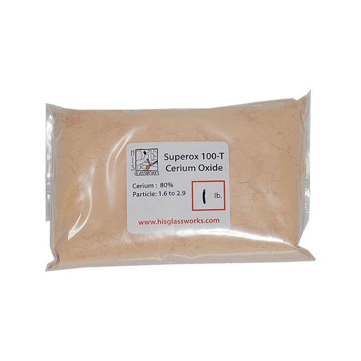 Superox 100-T cerium oxide 1 pound bag