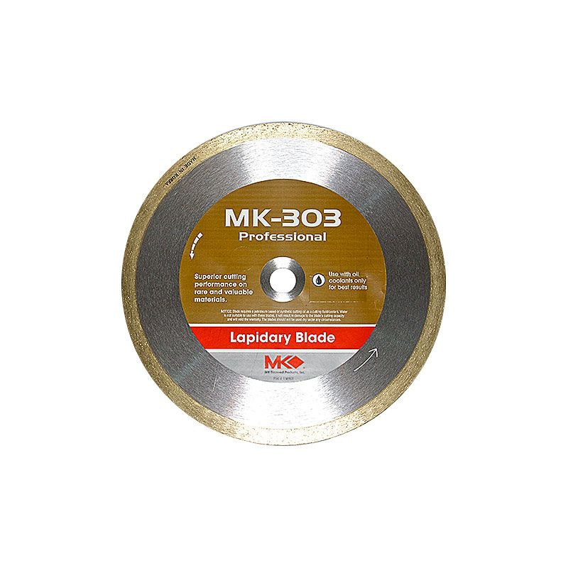 8 Inch x .060 x 5/8 x 1/2 Inch MK303 Medium Diamond Blade