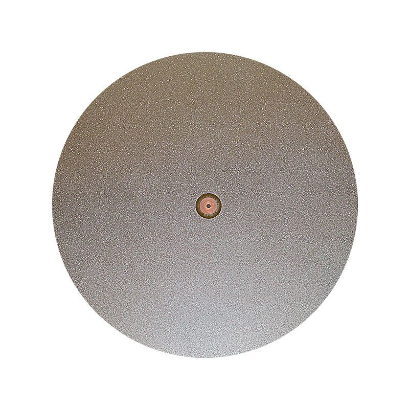 18 Inch 200 Grit Electroplated Diamond Disk Second with 1 Inch Hole