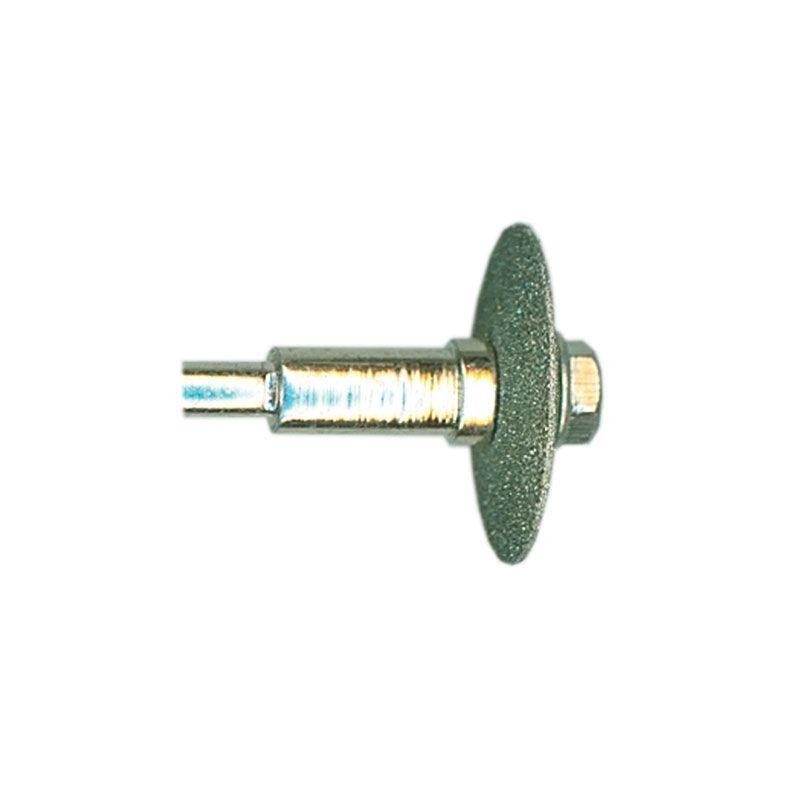 1/8 Inch Width x 3/4 Inch Diameter 80 Grit Diamond V-Wheel