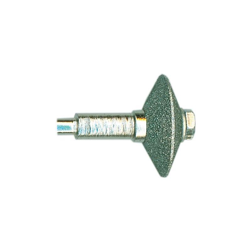 1/4 Inch Width x 3/4 Inch Diameter 80 Grit Diamond V-Wheel