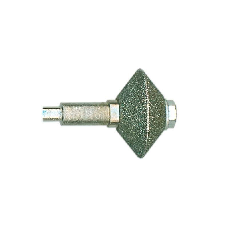 3/8 Inch Width x 3/4 Inch Diameter 80 Grit Diamond V-Wheel