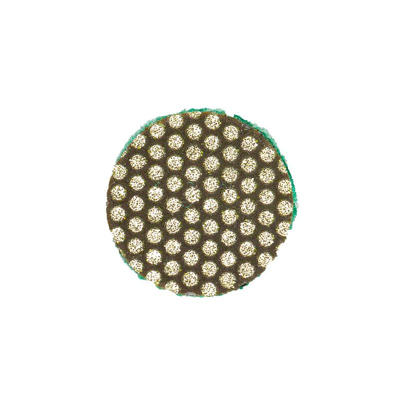 3M 1 inch Velcro Backed 60 Grit Diamond Disk