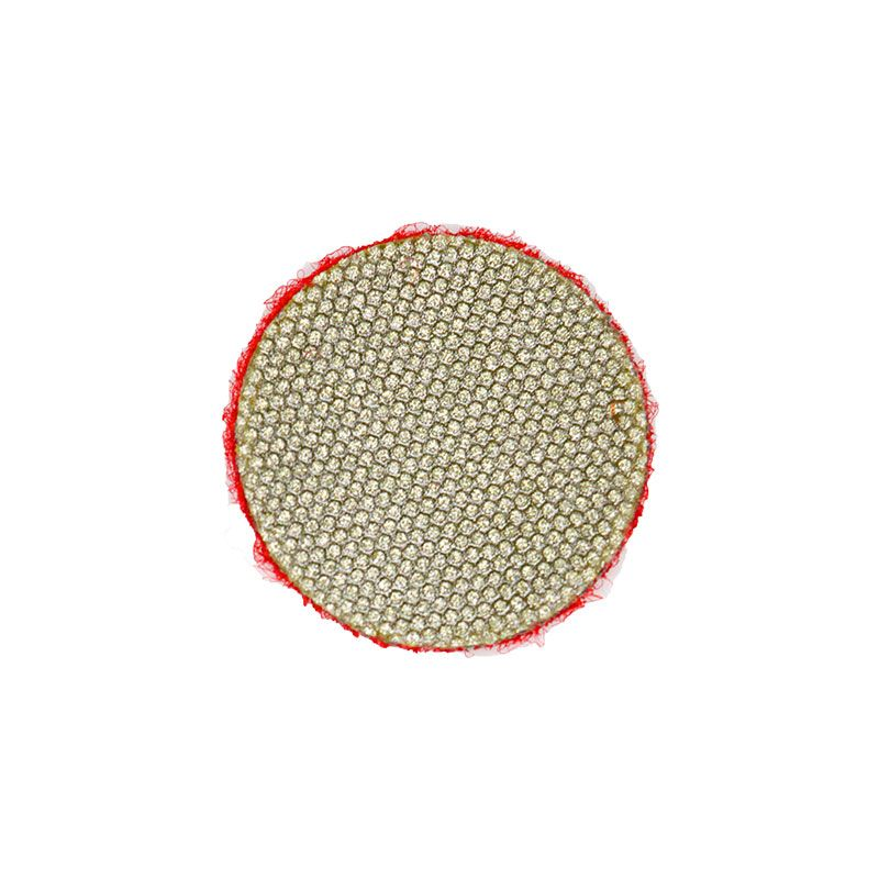 3M 1 Inch Velcro Backed 200 Grit Diamond Disk