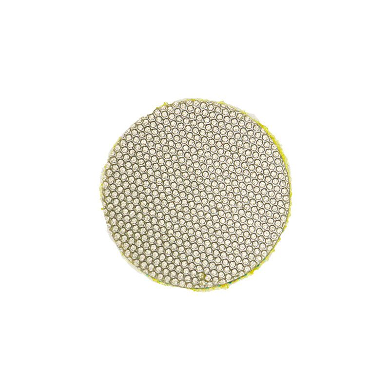 3M 1 Inch Velcro Backed 400 Grit Diamond Disk