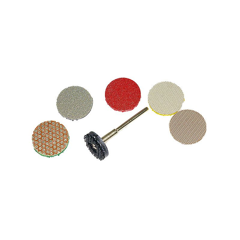 3M 1 inch Dual Lock Backed Diamond Disk Set