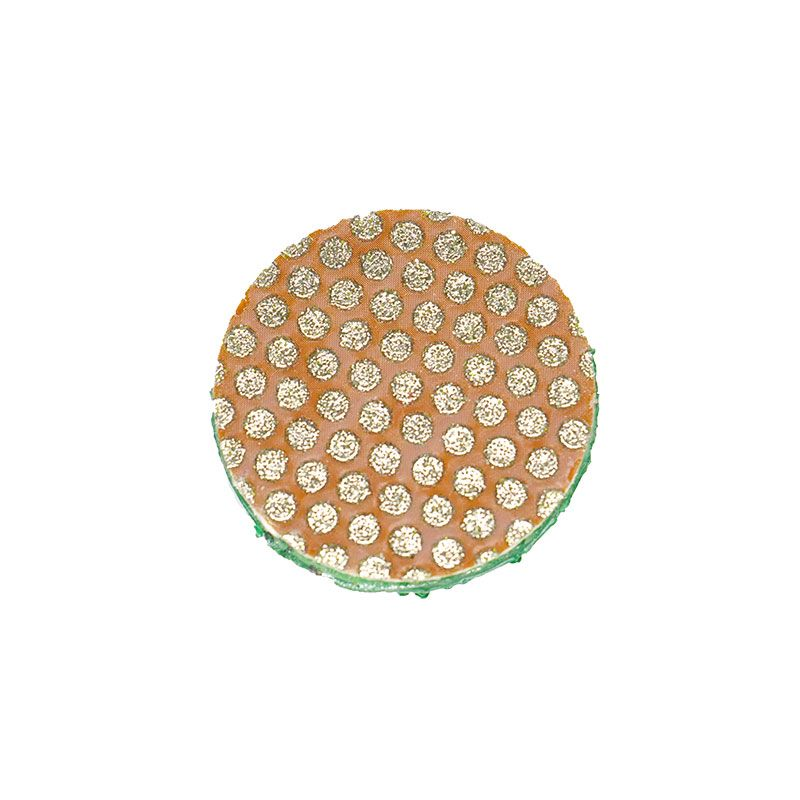 3M 1 Inch Dual Lock Backed 60 Grit Diamond Disk