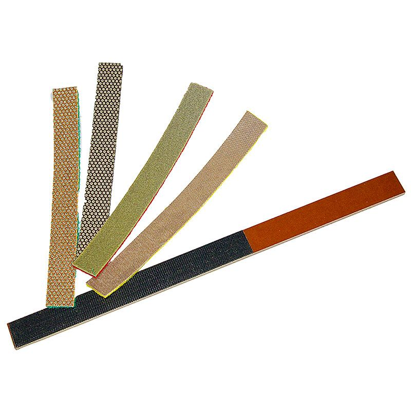 3M 3/4 Inch x 7 Inch Velcro Backed Diamond Strip Set