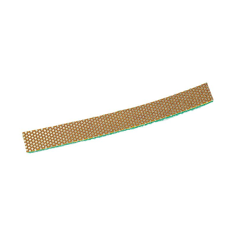 3M 3/4 Inch x 7 inch Velcro Backed 60 Grit Diamond Strip