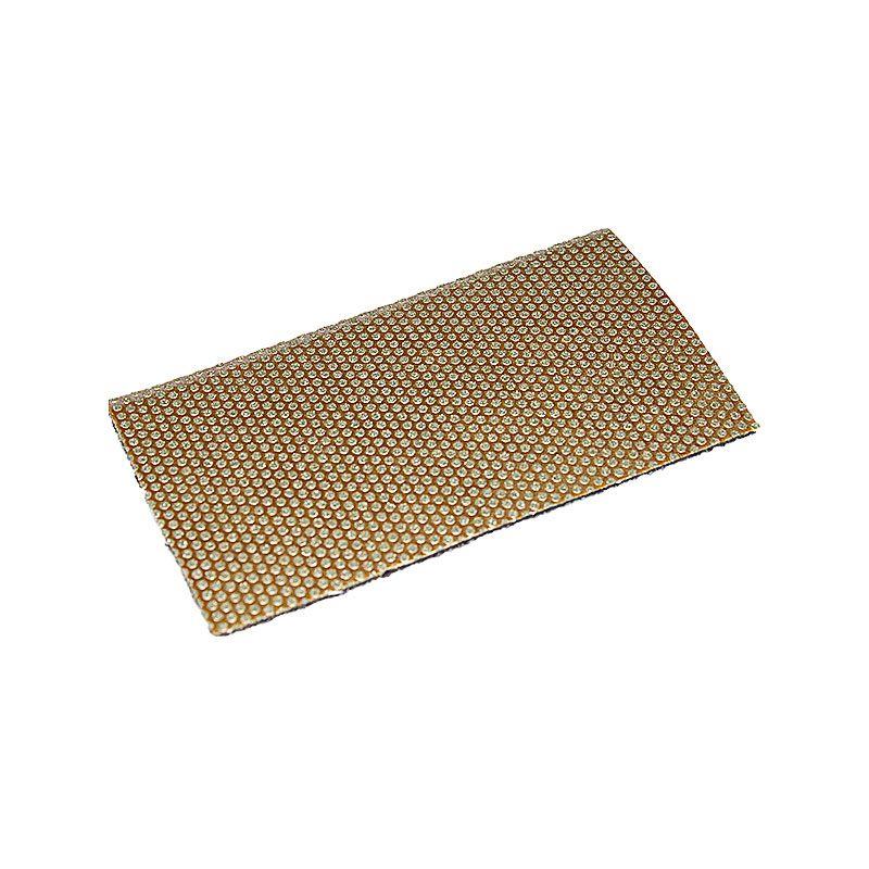 3M 2-3/4 Inch x 5 Inch 120 Grit Diamond Velcro Pad