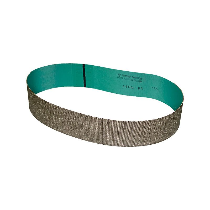 3M 3 Inch x 41-1/2 Inch 120 Grit Electroplated Diamond Belt
