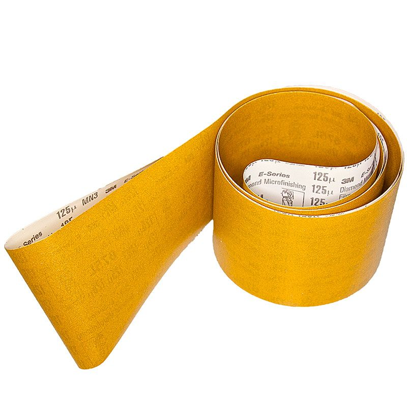 3M 4 Inch x 106 Inch 120 Grit Electrostatic Diamond Belt