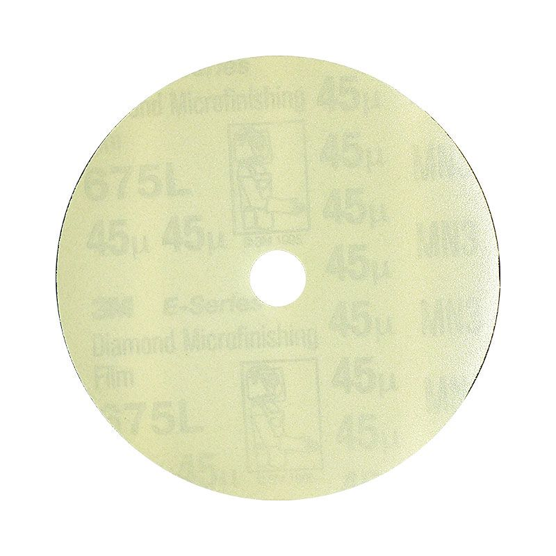 3M 4 Inch Velcro Backed 300 Grit Electrostatic Diamond Disk