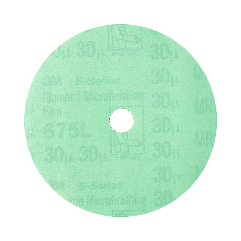 3M 4 Inch Velcro Backed 400 Grit Electrostatic Diamond Disk