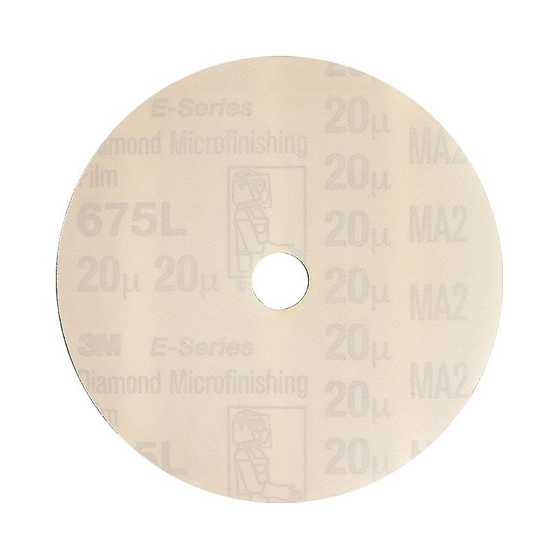 3M 4 Inch Velcro Backed 600 Grit Electrostatic Diamond Disk