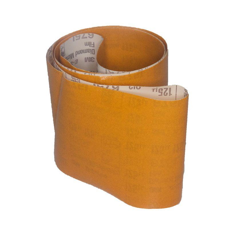 4 Inch x 64 Inch 3M 675L Electrostatic Belt 120 Grit