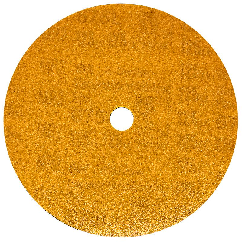 3M 5 Inch Velcro Backed 120 Grit Electrostatic Diamond Disk
