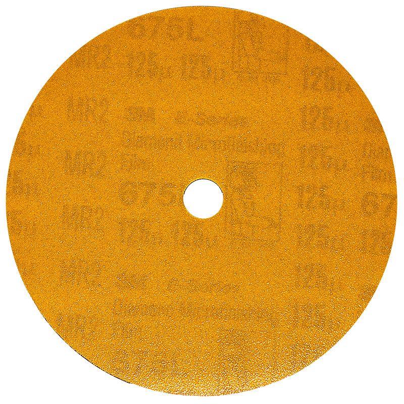 3M 5 Inch Velcro Backed 120 Grit Electrostatic Diamond Disk