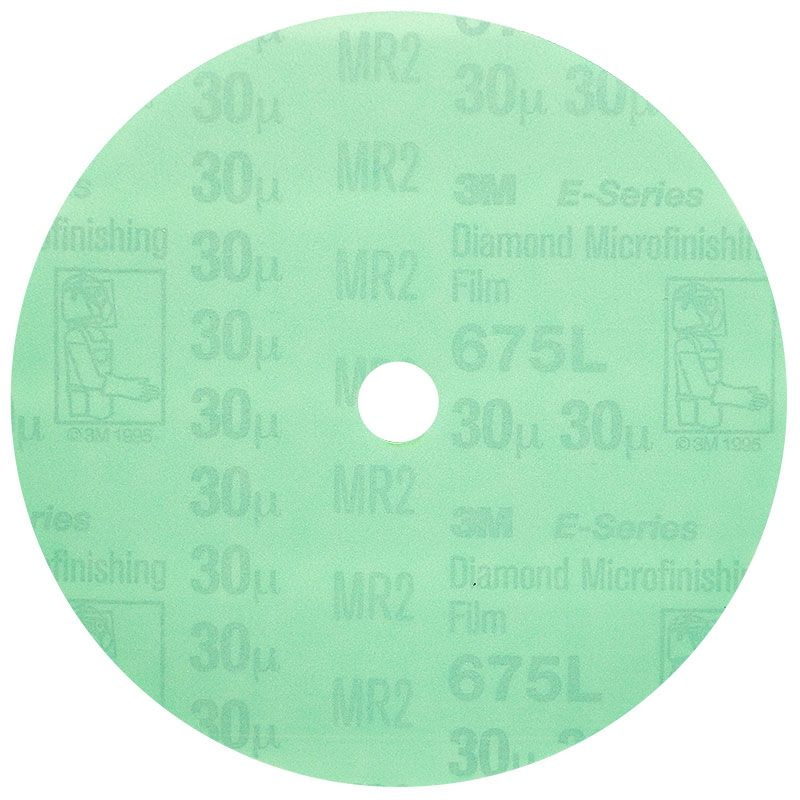 3M 5 Inch Velcro Backed 400 Grit Electrostatic Diamond Disk
