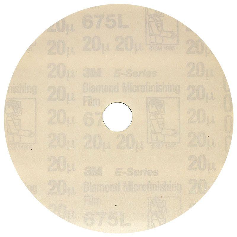3M 5 Inch Velcro Backed 600 Grit Electrostatic Diamond Disk