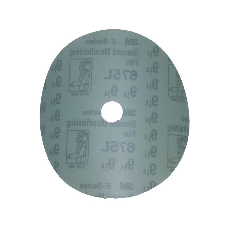 3M 5 Inch Velcro Backed 1200 Grit Electrostatic Diamond Disk
