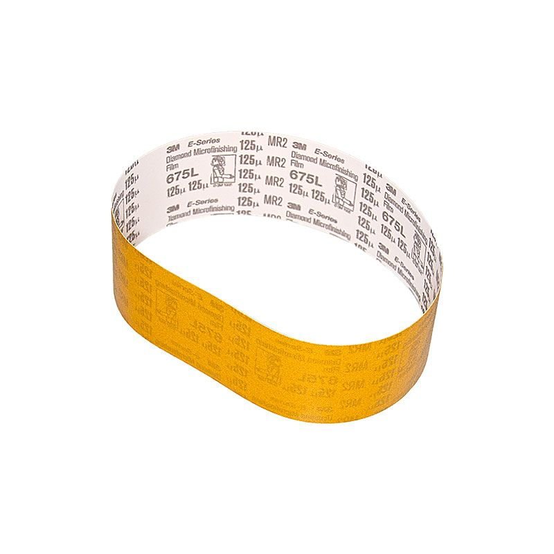 3M 3 Inch x 25-7/32 Inch 120 Grit Electrostatic Diamond Belt