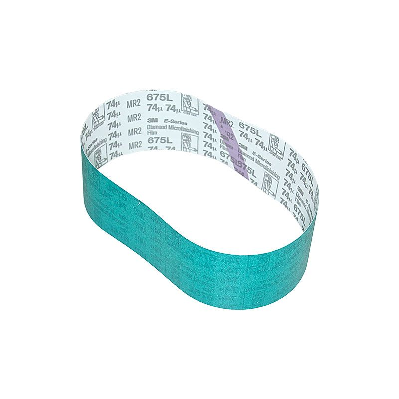 3M 3 Inch x 25-7/32 Inch 200 Grit Electrostatic Diamond Belt