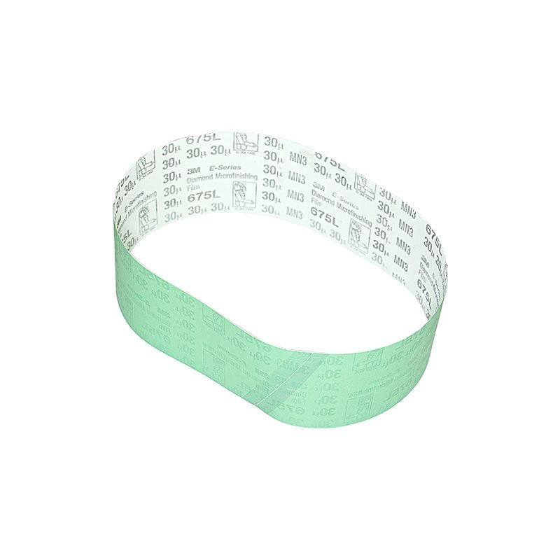 3M 3 Inch x 25-7/32 Inch 400 Grit Electrostatic Diamond Belt