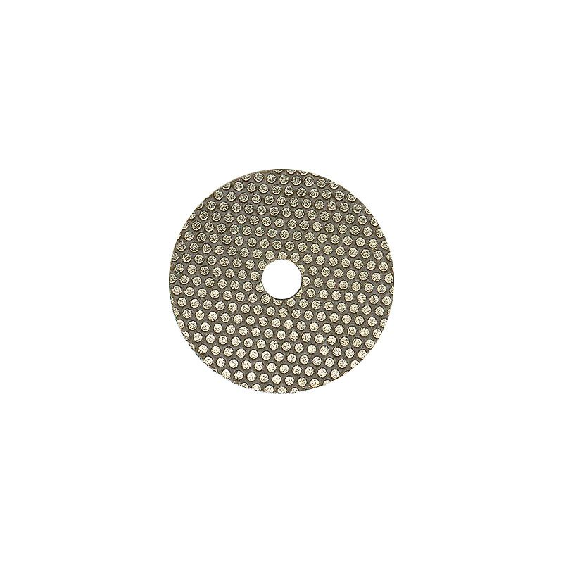 3M 2 Inch Velcro Backed 120 Grit Electroplated Diamond Disk